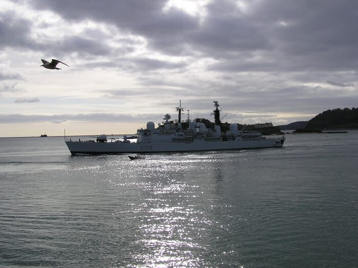 Destroyer, Plymouth Sound