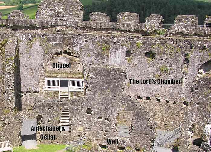 Restormel Castle, The Chapel